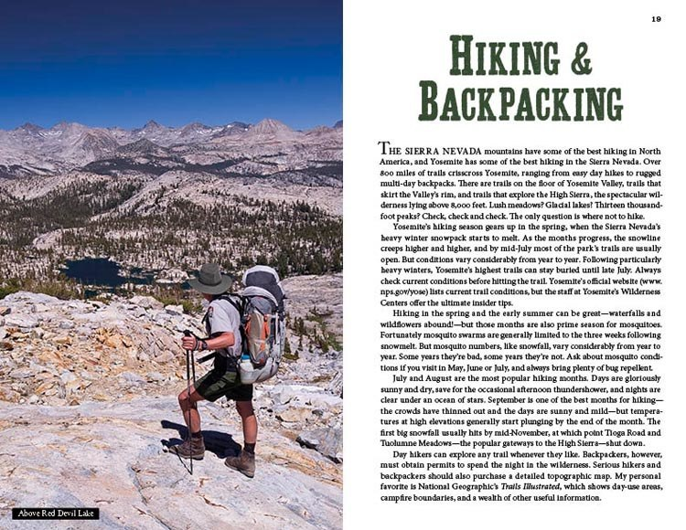 Hiking and Backpacking in Yosemite