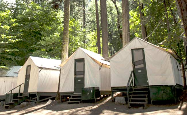 Best yosemite national park hotels lodges james kaiser for Cabins in yosemite valley