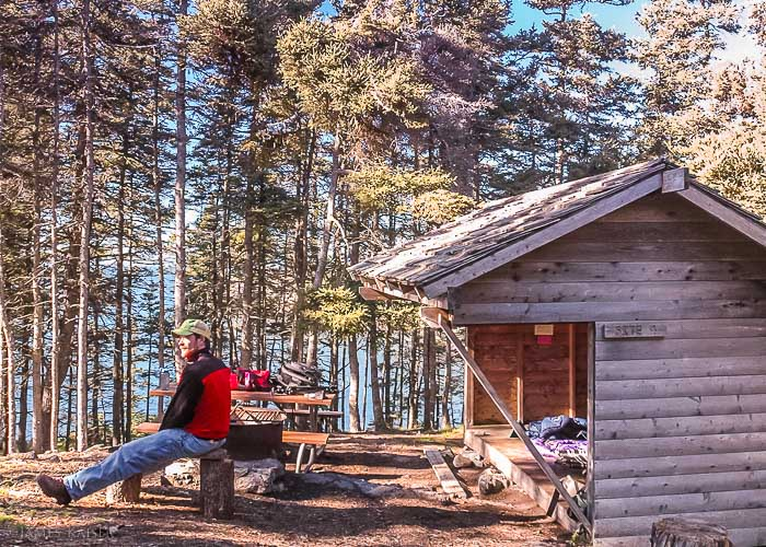 Duck Harbor Campground, Isle au Haut, Acadia National Park