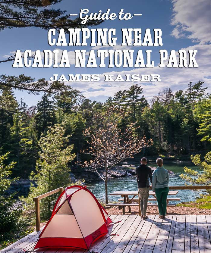 Camping near Acadia National Park
