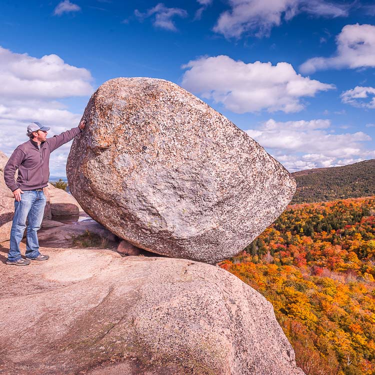 Bubble Rock, Acadia National Park