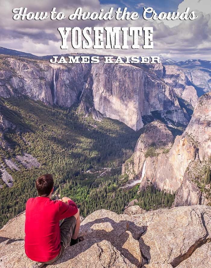 Avoiding the crowds in Yosemite