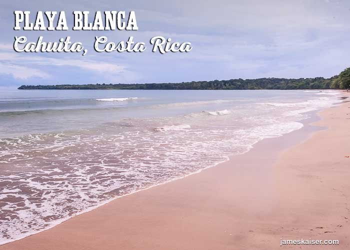 Playa Blanca beach, Cahuita, Costa Rica