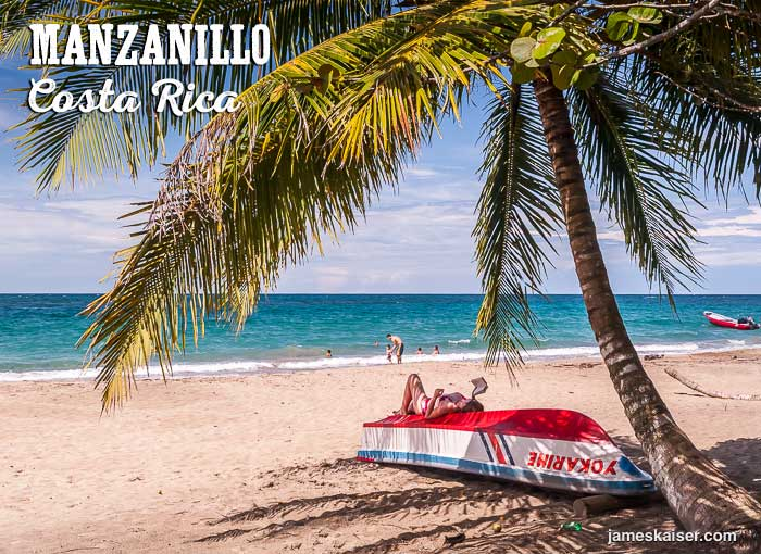 Manzanillo beach, Costa Rica