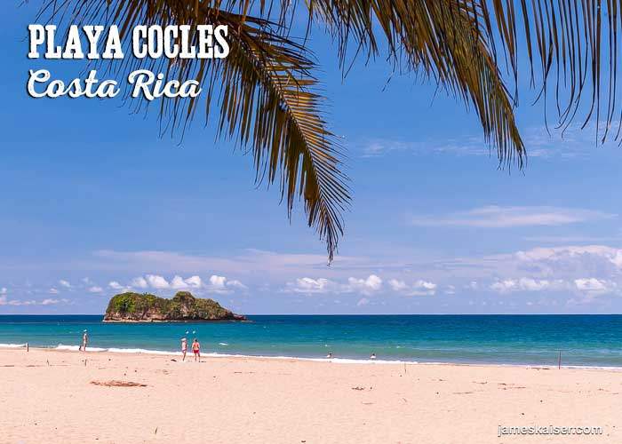 Playa Cocles beach, Costa Rica