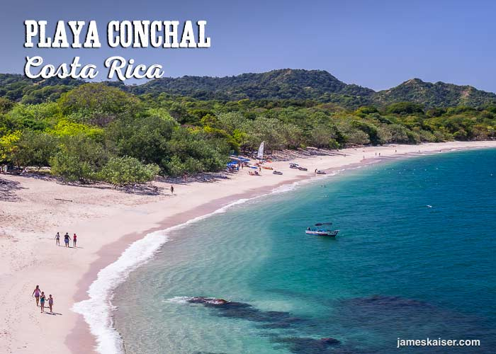 Playa Conchal beach, Costa Rica
