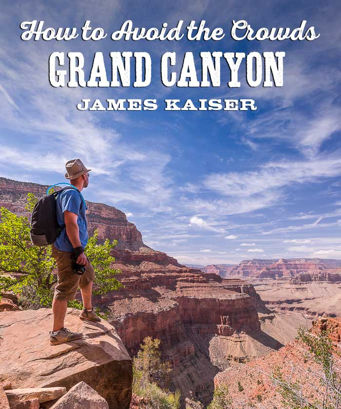 How to avoid the crowds in Grand Canyon National Park