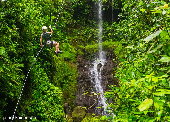 Canyoning, Costa Rica