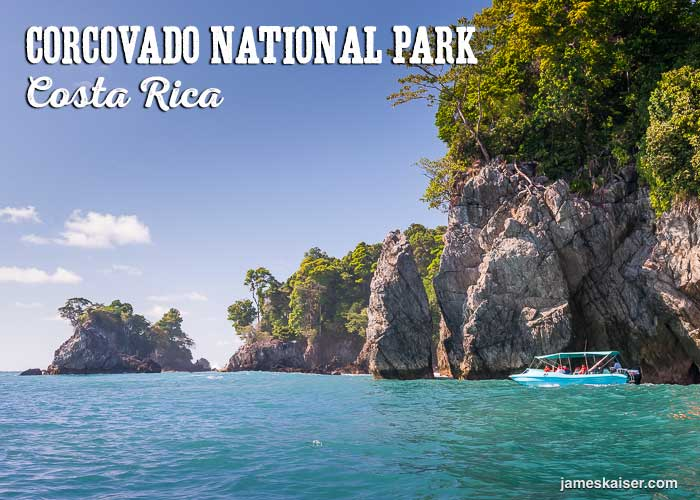 Corcovado National Park boat, Costa Rica