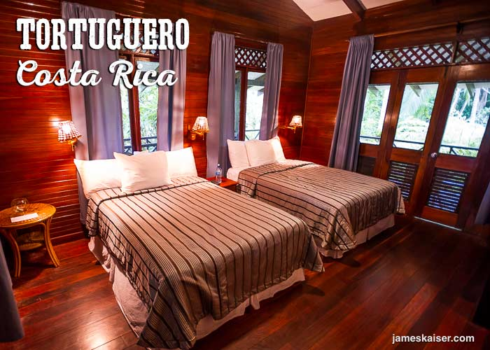Eco lodge in Tortuguero, Costa Rica