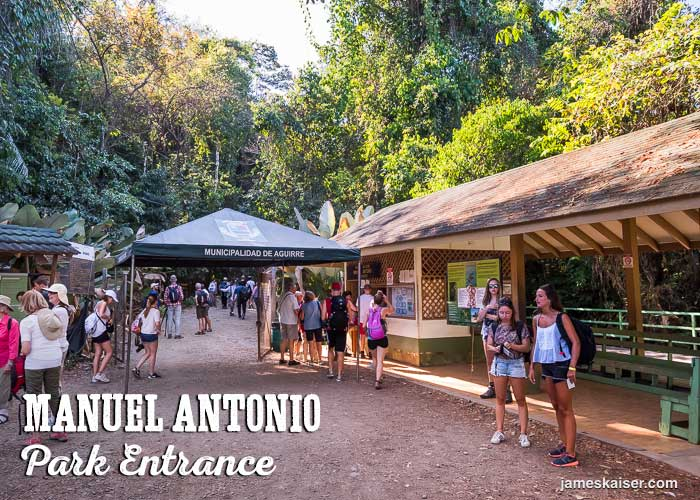 Manuel Antonio National Park entrance