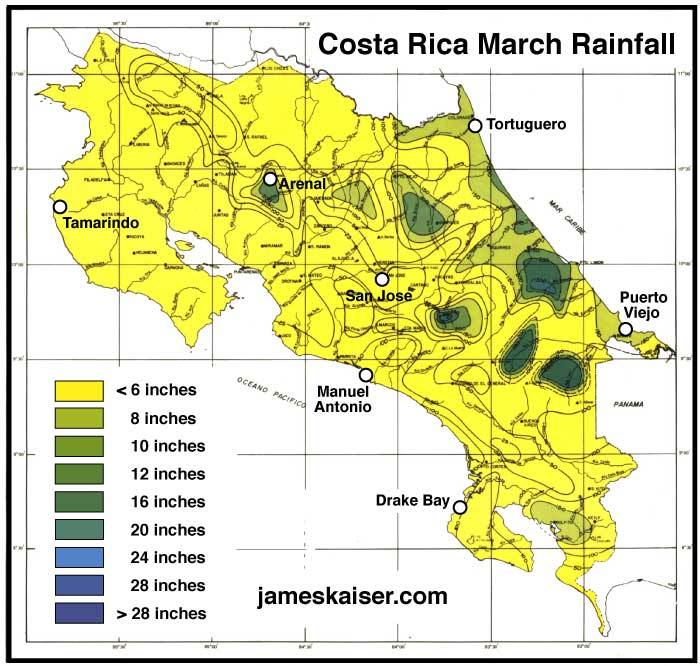 Costa Rica Weather in March - A Great Time to Visit! • James Kaiser