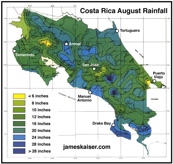 Costa Rica Weather in August - A Great Time to Visit