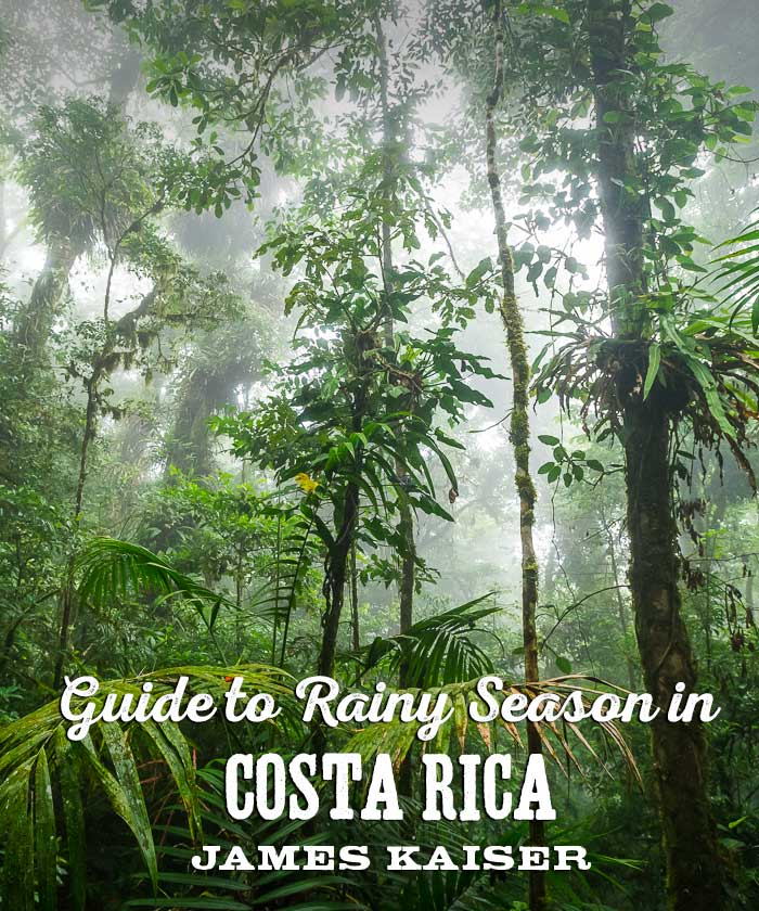 Costa Rica Rainy Season