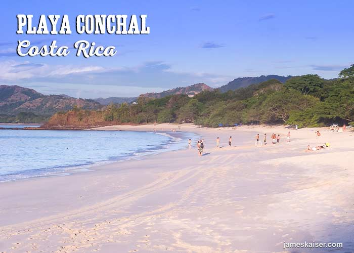 Playa Conchal beautiful beach Costa Rica