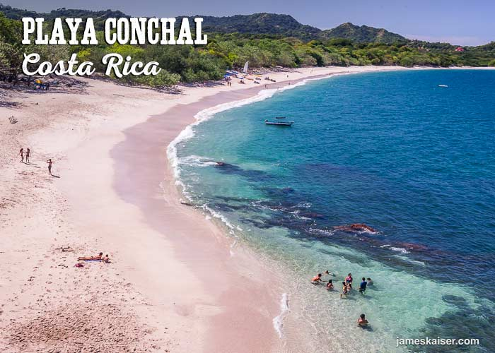 Playa Conchal Swimming