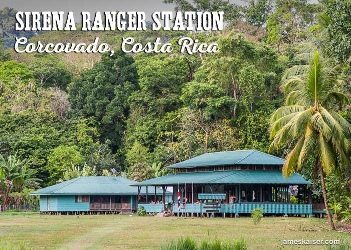 Sirena Ranger Station is a small collection of buildings
