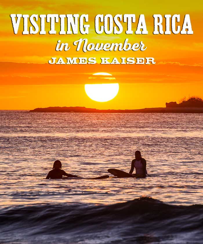 Visting Costa Rica in November