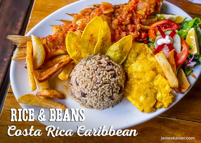 Rice and Beans, Costa Rica