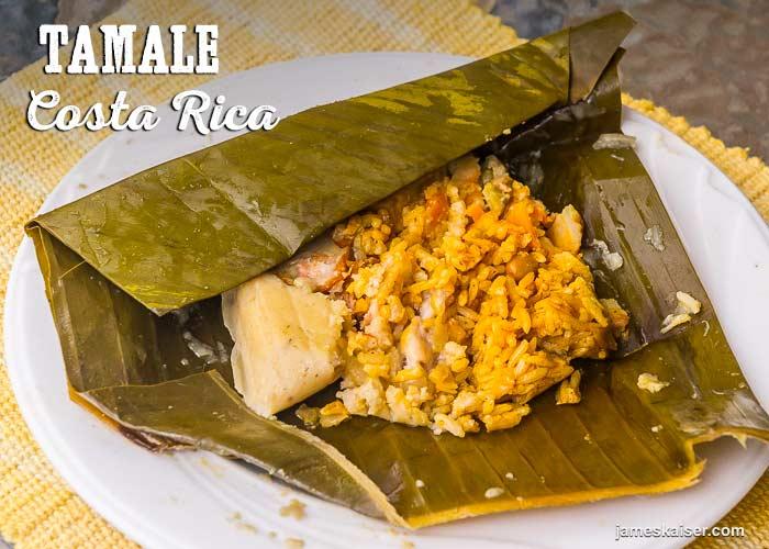 Costa Rican tamale
