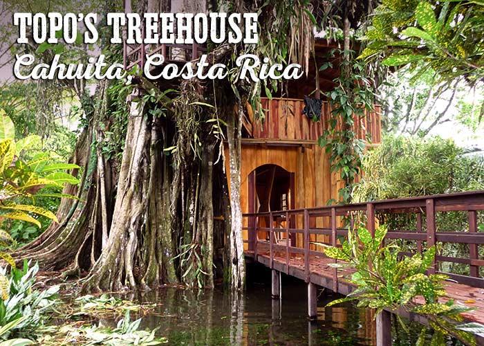 Topo's Treehouse, Cahuita, Costa Rica