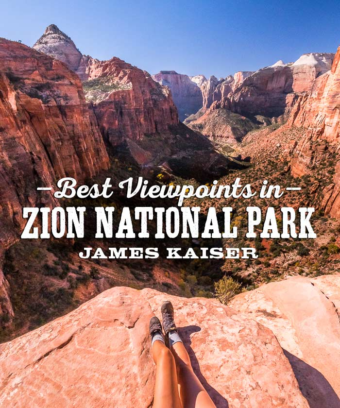 Best Views in Zion National Park