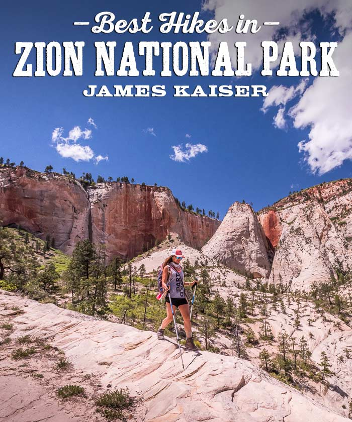 Best Hikes in Zion National Park, Utah
