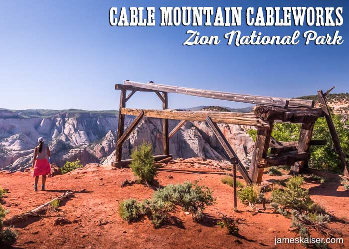 Hiking Cable Mountain [Insider Guide] • Zion National Park