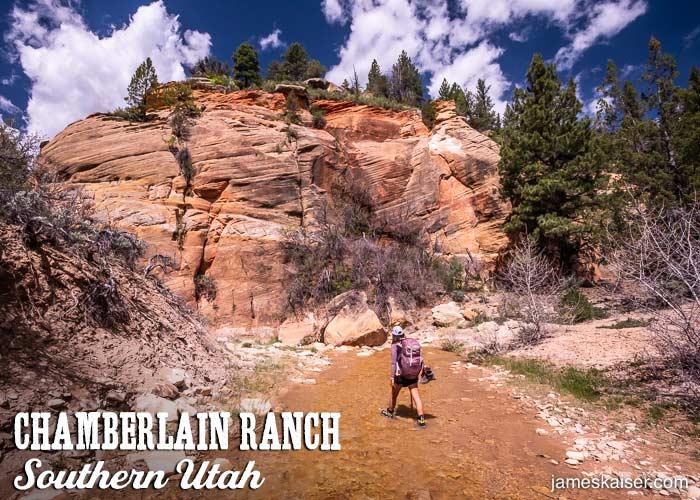Chamberlain Ranch, Southern Utah
