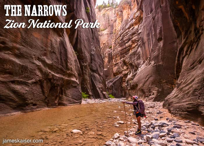 The Narrows, Top Down, Zion