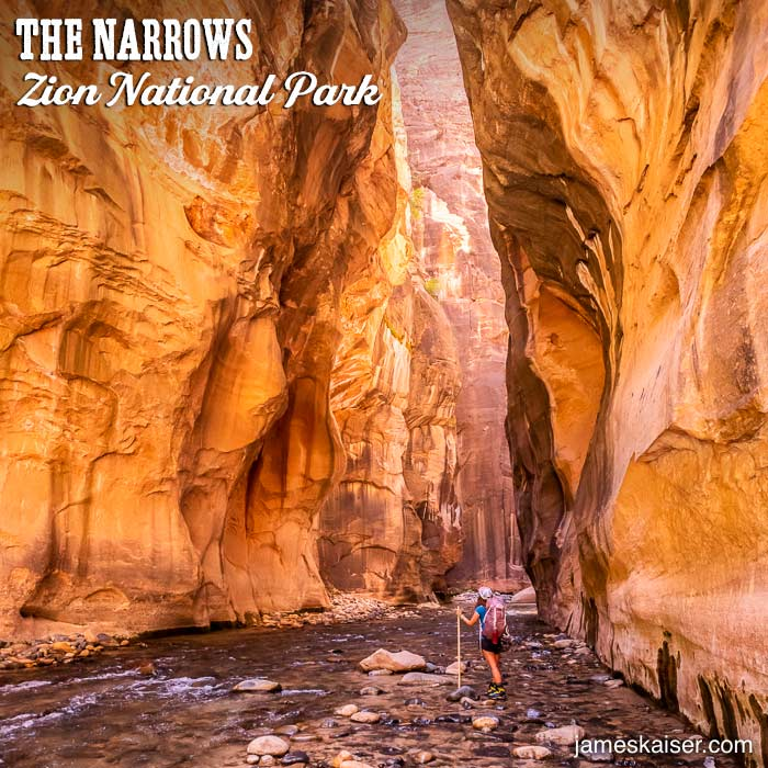 Wall Street, The Narrows, Zion National Park